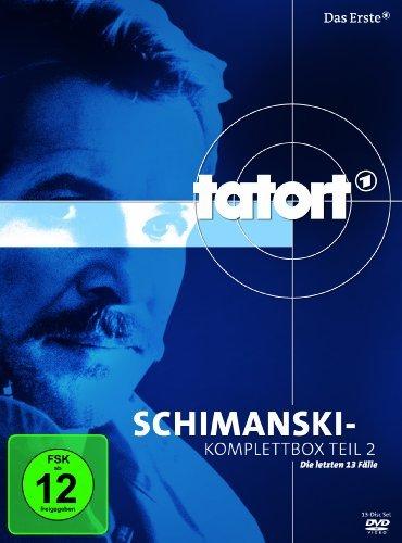 DVD - Tatort: Duisburg Schimanski-Komplettbox 2 - Die letzten 13 Fälle (13-Disc Set)