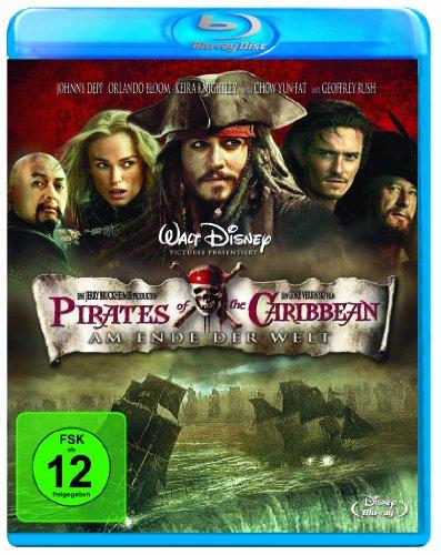 Blu-ray - Fluck der Karibik 3 - Am Ende der Welt