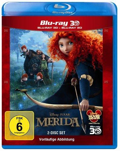 Blu-ray - Merida - Legende der Highlands 3D (Pixar) (Disney)