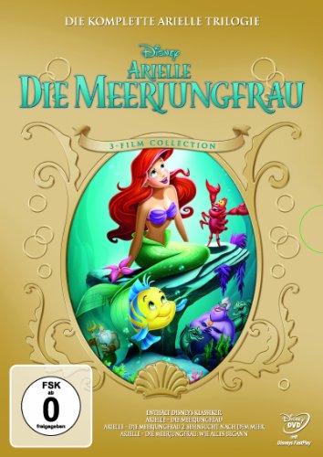 DVD - Arielle - Die Meerjungfrau - Trilogie (Disney)
