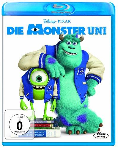 Blu-ray - Die Monster Uni (Pixar) (Disney)