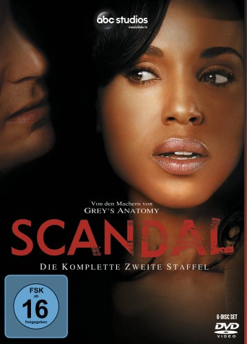 DVD - Scandal - Staffel 2
