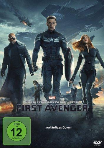 DVD - The Return of the First Avenger (Marvel)