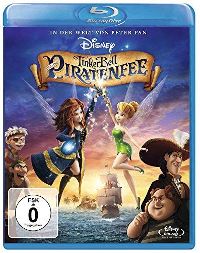 Blu-ray - TinkerBell und die Piratenfee (Disney)