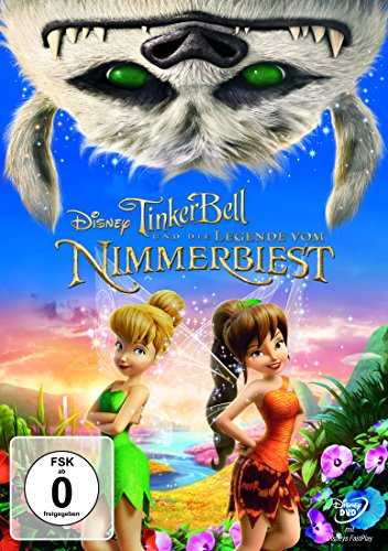 DVD - Tinker Bell und die Legende vom Nimmerbiest (Disney)