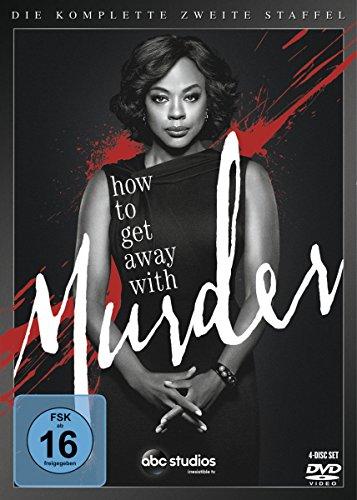 DVD - How to Get Away with Murder - Die komplette zweite Staffel [4 DVDs]