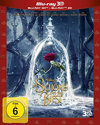 Blu-ray - Die Schöne und das Biest 3D (Disney) (Real Film)