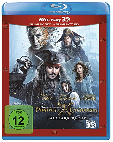 Blu-ray - Pirates Of The Caribbean: Salazars Rache 3D (  Blu-ray)