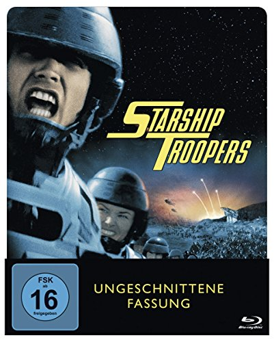 Blu-ray - Starship Troopers - Limited Edition Steelbook [Blu-ray]