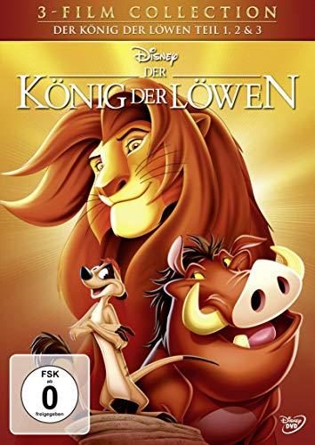 DVD - Der König der Löwen - Teil 1, 2 & 3 [3 DVDs]