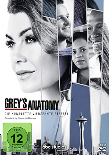 DVD - Grey's Anatomy - Staffel 14
