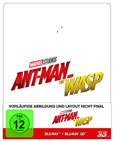 Blu-ray - Ant-Man And The Wasp 3D (  Blu-ray) (Limited Steelbook Edition)