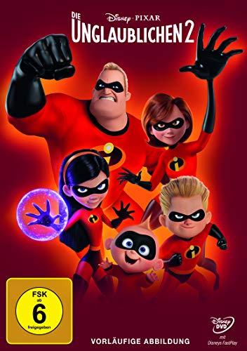 DVD - Die Unglaublichen 2 (Pixar) (Disney)