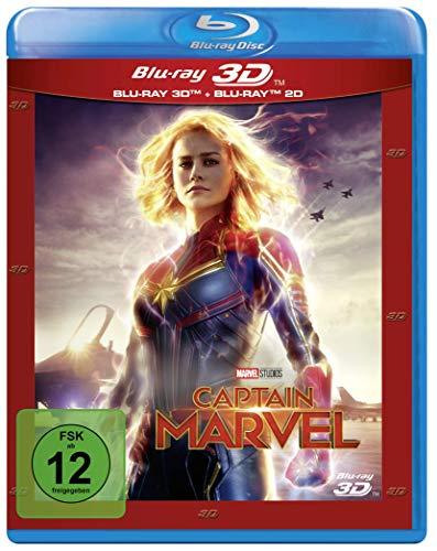 Blu-ray - Captain Marvel 3D (Marvel)