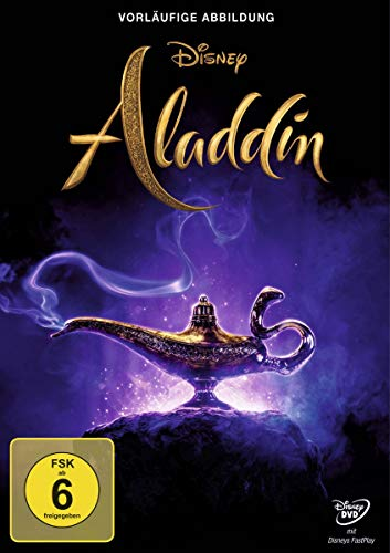 DVD - Aladdin (Live-Action) (Disney)