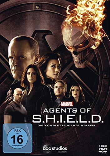 DVD - Marvel's Agents of S.H.I.E.L.D. - Die komplette vierte Staffel [6 DVDs]