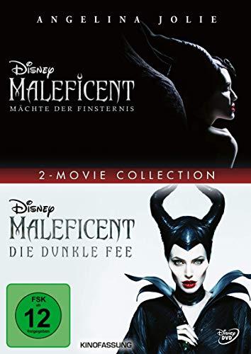 DVD - Maleficent - Mächte der Finsternis / Maleficent - Die dunkle Fee (Disney) (2-Movie Collection)