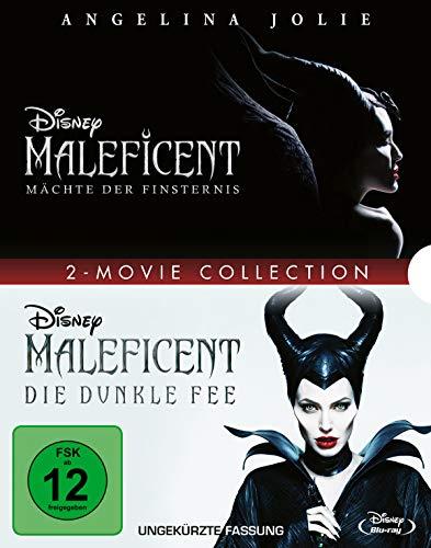 DVD - Maleficent - Mächte der Finsternis (Disney) / Maleficent - Die dunkle Fee (Disney) (2-Movie Collection)