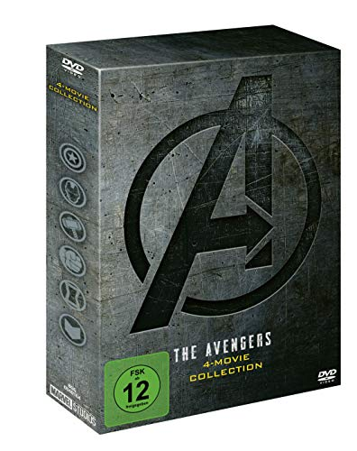 DVD - The Avengers 4-Movie DVD Collection