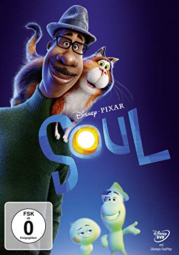 DVd - Soul (Pixar) (Disney)
