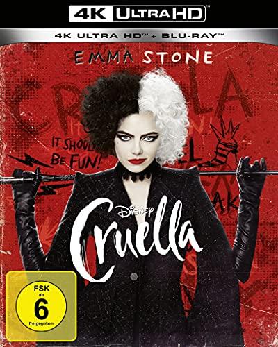 Blu-ray - Cruella Ultra HD (Disney) (  Blu-ray)