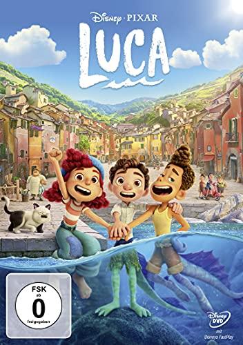 DVD - Luca (Pixar) (Disney)