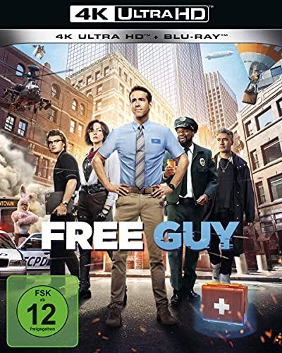 Blu-ray - Free Guy Ultra HD (  Blu-ray)