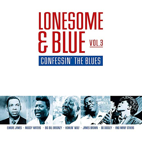 Sampler - Lonesome & Blue 3: Confessin' The Blues (Limited Edition) (Translucent Red) (Vinyl)