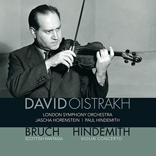 Oistrakh , David - Bruch: Scottish Fantasia (LSO, Horenstein) / Hindemith: Violin Concerto (LSO, Hindemith) (Vinyl)