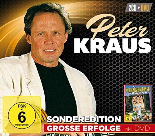 Kraus , Peter - Grosse Erfolge (inkl. DVD: Im schwarzen Rössl am Wolfgangsee) (2CD 1DVD)