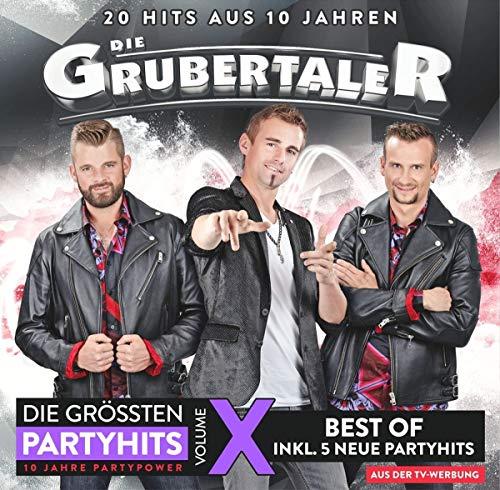 Grubertaler , Die - Die grössten Partyhits 10 (20 Hits aus 10 Jahren)