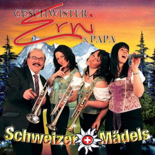 Geschwister Erni & Papa - Schweizer Mädels