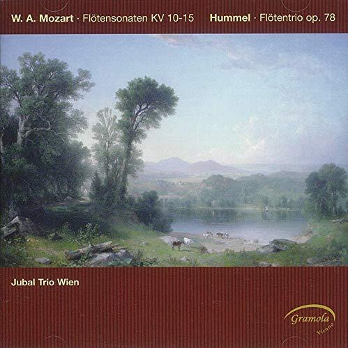 Jubal Trio Wien - Mozart: Flötensonaten, KV 10-15 / Hummel: Flötentrio, Op. 78