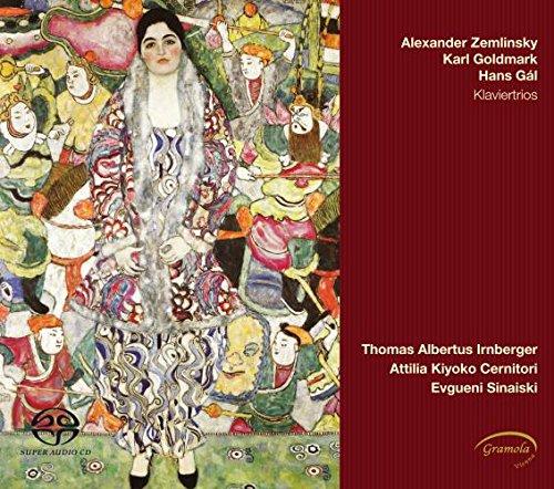 Irnberger / Cernitori / Sinaiski - Klaviertrios von Zemlinsky, Goldmark, Gal