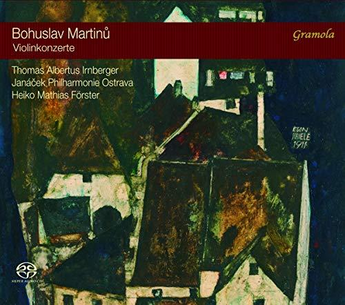 Martinu , Bohuslav - Violinkonzerte