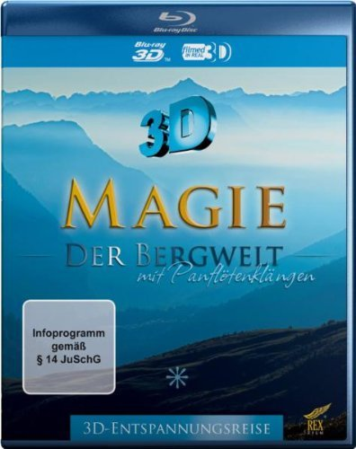 Blu-ray - Magie der Bergwelt 3D - mit Panflötenklängen (3D-Entspannungsreise)