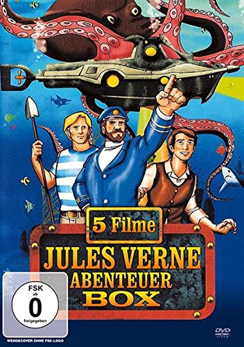 DVD - Jules Verne Abenteuer Box (5 Filme)