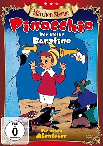 DVD - Pinocchio - Der kleine Buratino (Märchen Sterne)