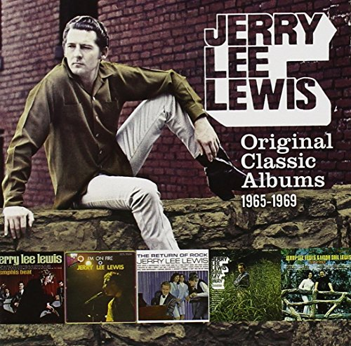 Lewis , Jerry Lee - Original Classic Albums 1965-1969 (I'm On Fire / The Return Of Rock / Memphis Beat 1&2 / Soul My Way / Together)