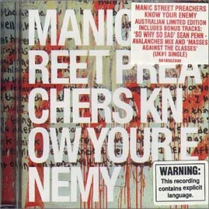 Manic Street Preachers - Know Your Enemy (AUS-Import) (Limited Edition)
