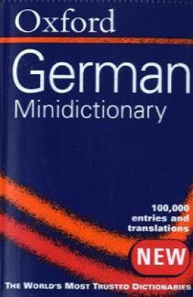-- - The Oxford-Duden German Minidictionary