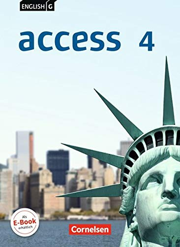 -- - English G Access - Allgemeine Ausgabe: Band 4: 8. Schuljahr - Schülerbuch: Kartoniert
