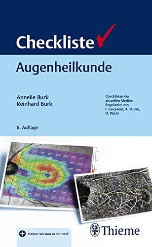 Burk, Annelie - Checkliste Augenheilkunde