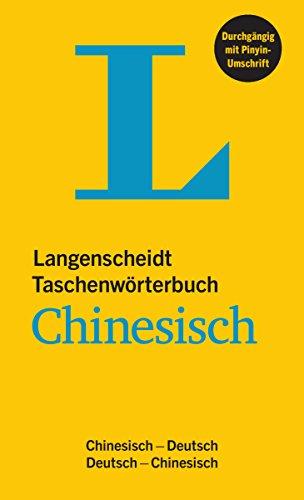 -- - Langenscheidt Taschenwörterbuch Chinesisch: Chinesisch-Deutsch/Deutsch-Chinesisch