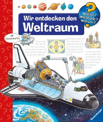 Erne, Andrea - Wir entdecken den Weltraum