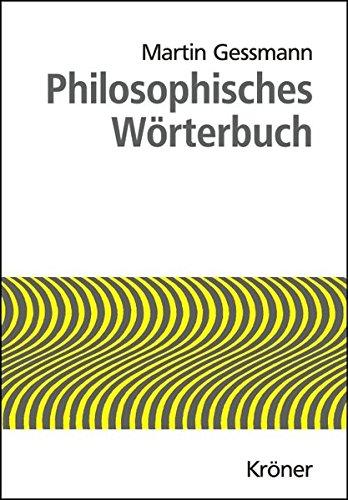 Gessmann, Martin - Philosophisches Wörterbuch