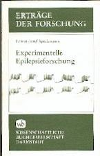 Speckmann , Erwin-Josef - Experimentelle Epilepsieforschung