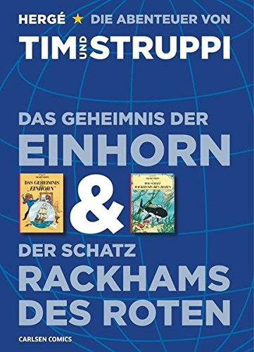 Hergé - Tim & Struppi: Doppelband: Das Geheimnis der Einhorn und Der Schatz Rackhams des Roten