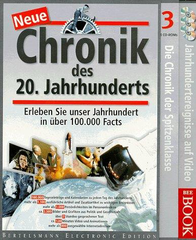 PC - Neue Chronik des 20. Jahrhunderts. 3 CD- ROMs für Windows 95/98. Erleben Sie unser Jahrhundert in über 100 000 Facts