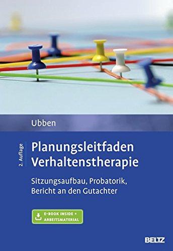 Ubben, Bernd - Planungsleitfaden Verhaltenstherapie
